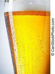 gelado, quartilho cerveja
