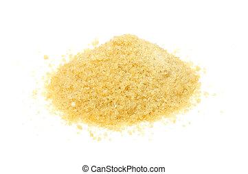 Gelatin Granules - A pile of gelatin granules isolated on a...