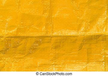 gelber , beschaffenheit, plastik