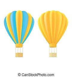 korb orange gelber ballon luft ballon aus gelber vektor clipart suchen sie. Black Bedroom Furniture Sets. Home Design Ideas