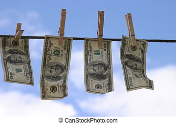 geld, #1, laundered
