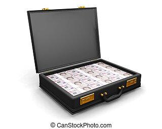 geld aktetas