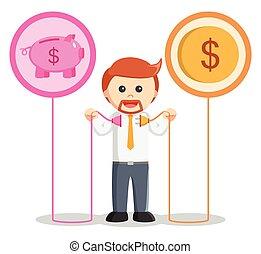 geld- bank, verbinden, kaufleuten zürich