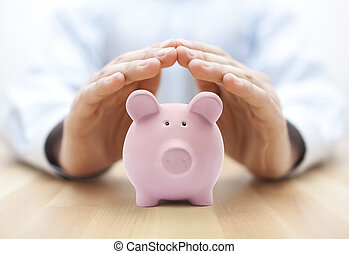 geld, beschermen, jouw