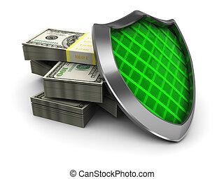 geld, bescherming