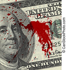 geld, bloed