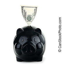 geld, concept, besparing