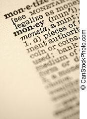 geld, dictionary.
