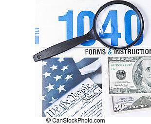 geld, en, belastingen
