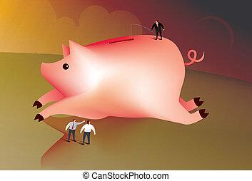 geld, fischerei, kaufleuten zürich