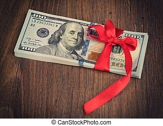 geld, geschenk