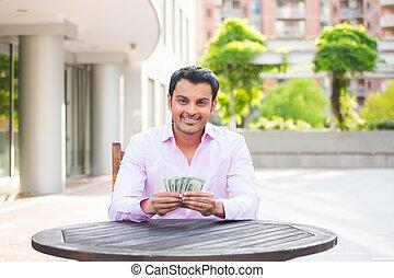 geld, glücklich
