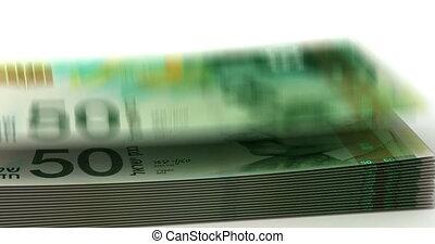 geld, herfst, nieuw, israëlisch, shekel