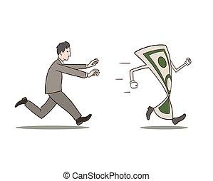 geld, jagen