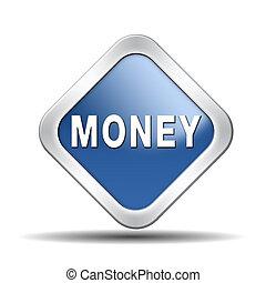 geld, knoop