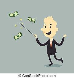 geld, magisch