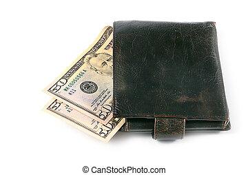 geld, papier, dollar