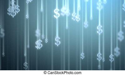 geld, regen, hintergrund