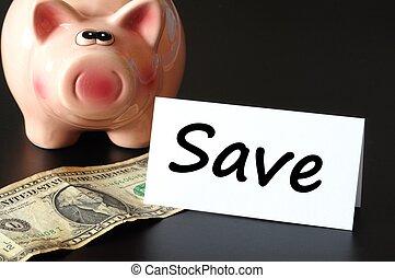 geld, retten