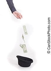 geld, schenking