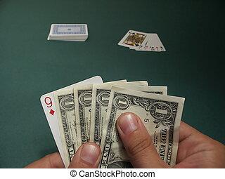 geld, spiel