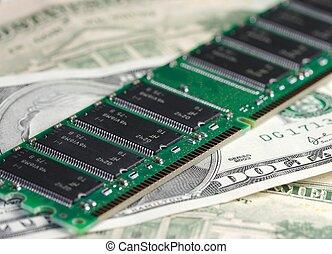 geld, technologie, &
