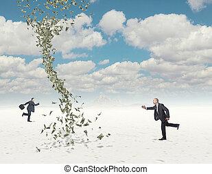geld, uitdaging