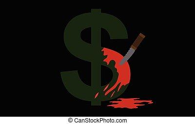 geld, verbrechen