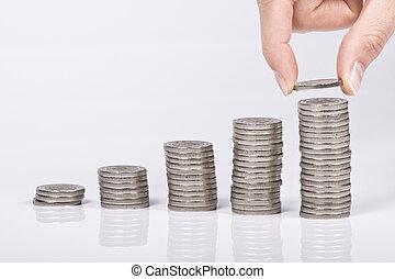 geld, wachstum