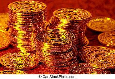 geldmünzen, gold