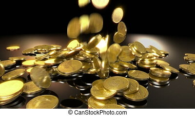 geldmünzen, herbst