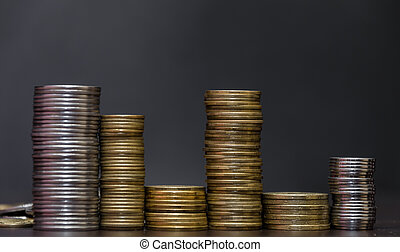 geldmünzen, von, ukraine.