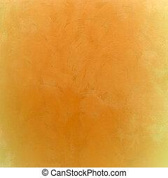 gele, abstract, textuur, voor, achtergrond