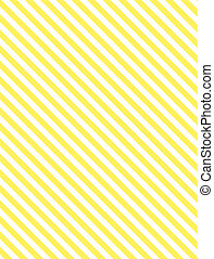 gele, diagonaal streep
