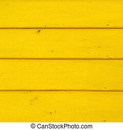 gele, gekleurde, houten, boards., vibrant, color., texture.