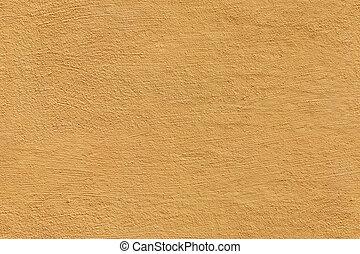 gele, seamless, textuur, stucco