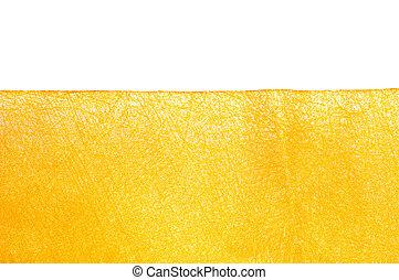gele, weefsel, textuur