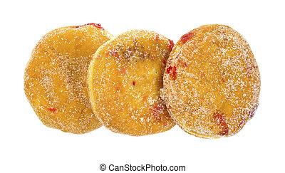 gelei, gevulde, doughnuts