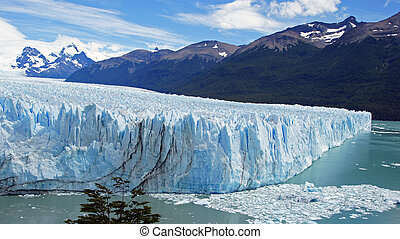 geleira, argentinia, perito, moreno