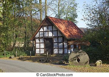 Gellenbeck mill in Hagen, Germany - Gellenbecker mill in...