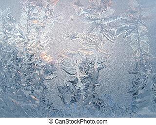 gelo, padrão