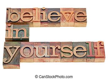 geloven, je