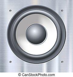 geluid, dynamics., sprekers