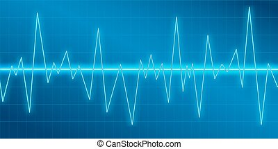 geluid, modulation., amplitude, equalizer., het schommelen, ...