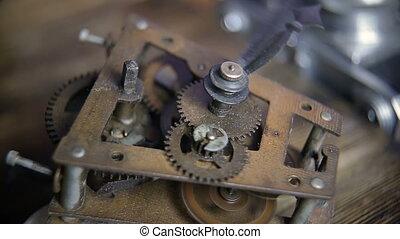 geluid, oud, tick-tick, klokken samenstel van bewegende delen, toestellen, stopwatch