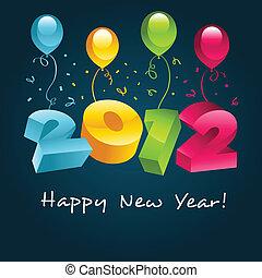 gelukkig nieuwjaar, 2012