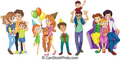 gelukkige families