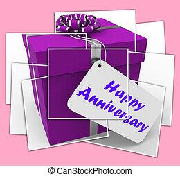 gelukkige verjaardag, cadeau, vertoningen, vieren, jaren,...