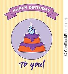 gelukkige verjaardag, ontwerp