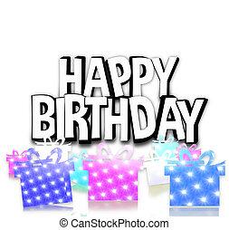 gelukkige verjaardag